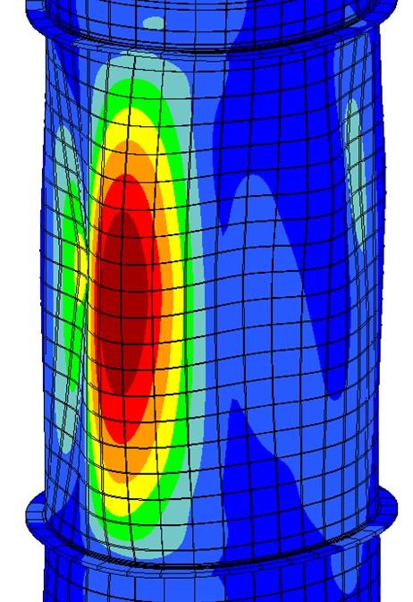 Structural Integrity Assessment of a Fire Damaged Process Column