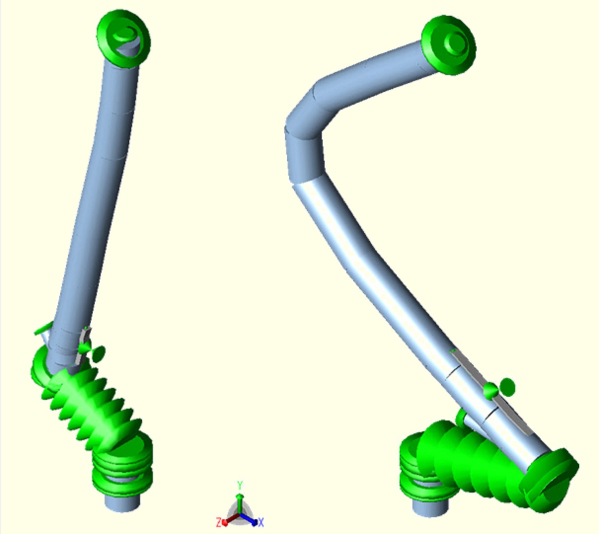 Forced Vibration Analysis Of Piping Systems