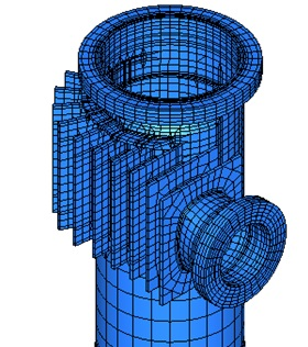 Mechanical Design of Fourth Stage Cyclone Separator