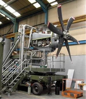 Design of Aero-Engine Test Frame